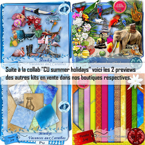 "Collab CU ""Summer Hollydays"""