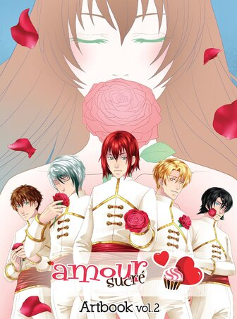 Illustrations Artbook amour sucré