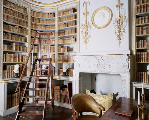 Image de library and books