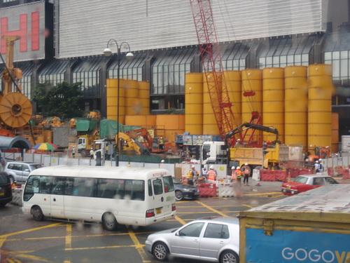 Du coté du port de Hong kong