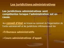 """Résultat de recherche d'images pour """"répartition compétence juridiction administrative"""""""
