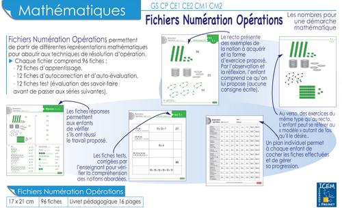 Fichiers PEMF - Numération Opération