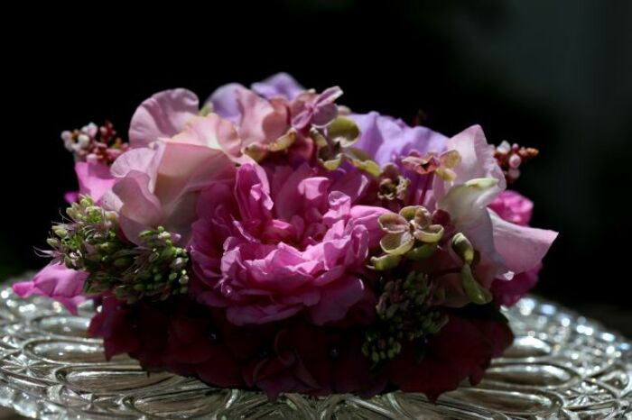 Making-of : Bouquet sous cloche