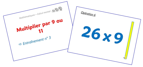 Multiplier par 9 ou 11 (diaporamas)