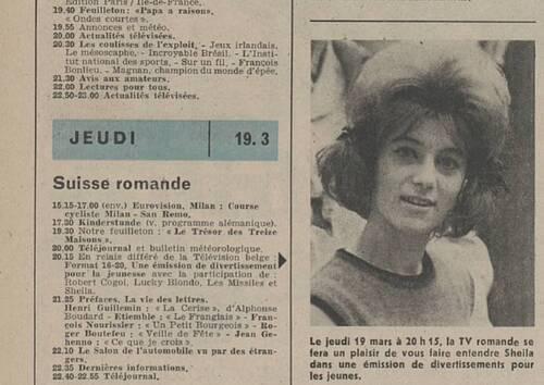 19 mars 1964 / FORMAT 16/20 (T S R) - INTROUVABLE