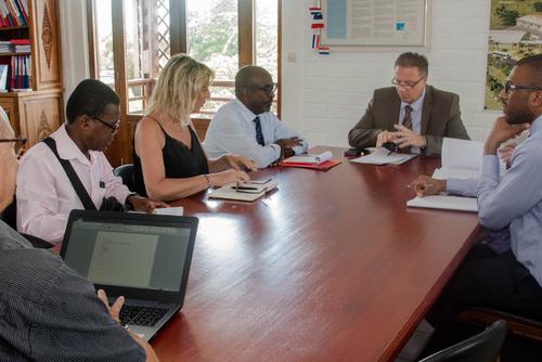 Compte rendu de la rencontre de Sigrid Gérardun et nos SA avec le vice-recteur
