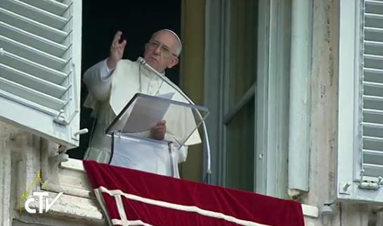 Pape François, angélus