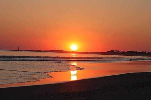 coucher de soleil sur Bonne Anse depuis la Grande Côte8