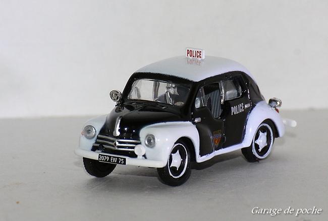 "Renault 4CV 1955  ""Police"""