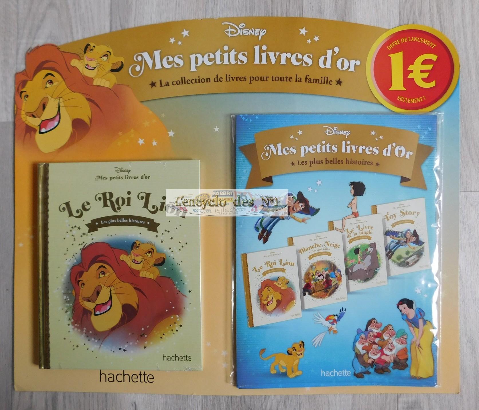 N 1 Mes Petits Livres D Or Disney Lancement L Encyclo