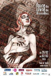 Je vous emmène à la Foire du livre de Bruxelles...
