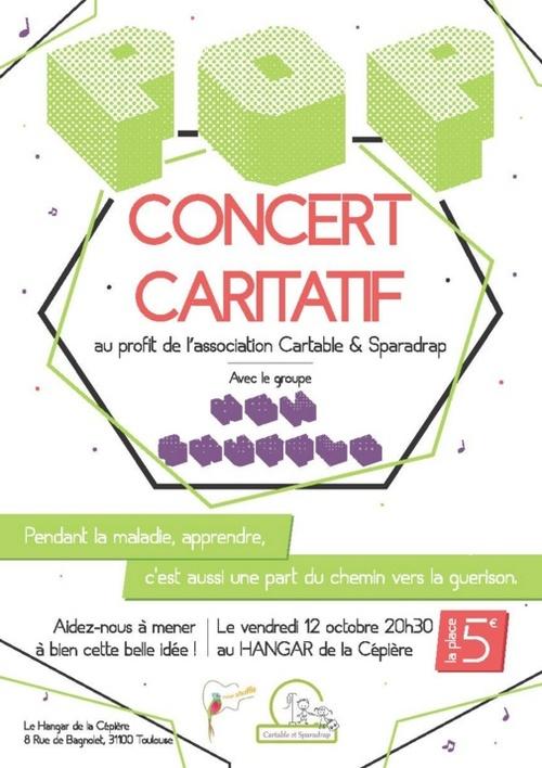 12 octobre : concert caritatif