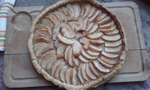 Tarte aux pommes, tout simplement {Vegan}