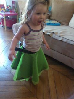 Une jupe de fée princesse facile à mettre !