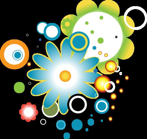cercles en couleur