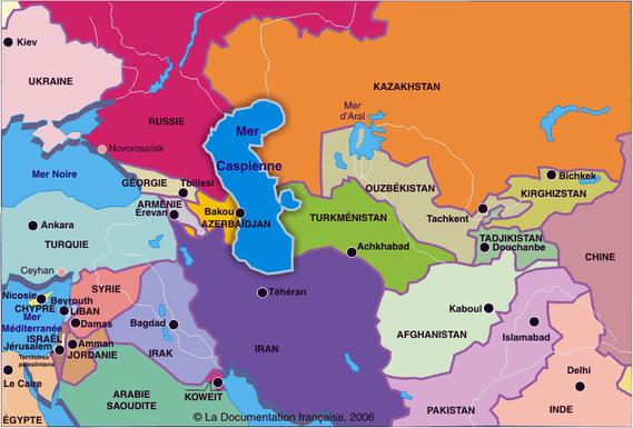 La mer Caspienne dotée désormais d'un statut