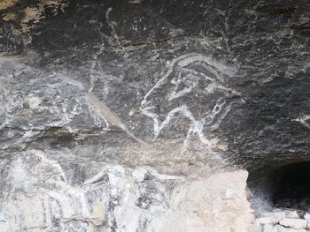 Passage à la grotte des chèvres