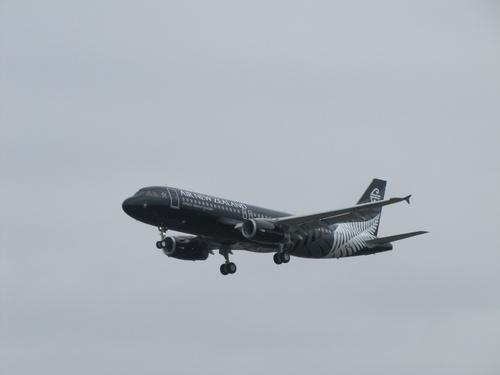 Airbus A320 Nouvelle Zelande à Blagnac le 25 01 2011 à 14h00
