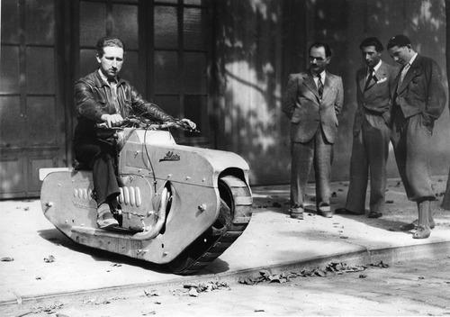 les motos-chenilles