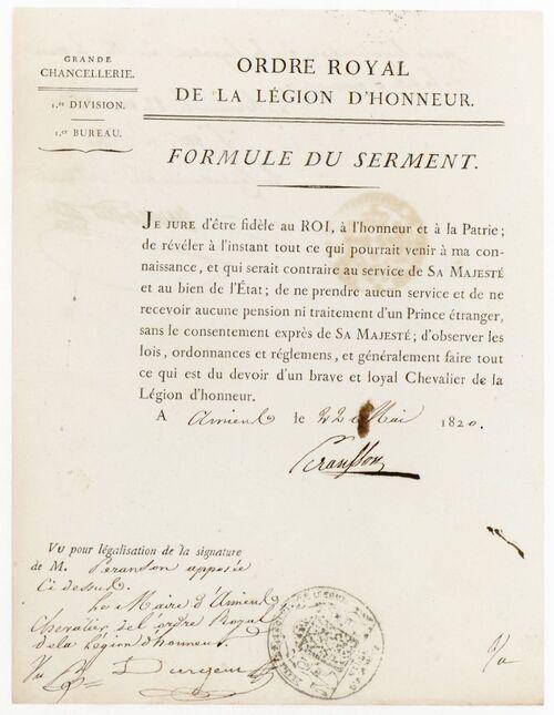 * PERANSSON François-Toussaint