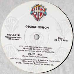 George Benson - 20 / 20