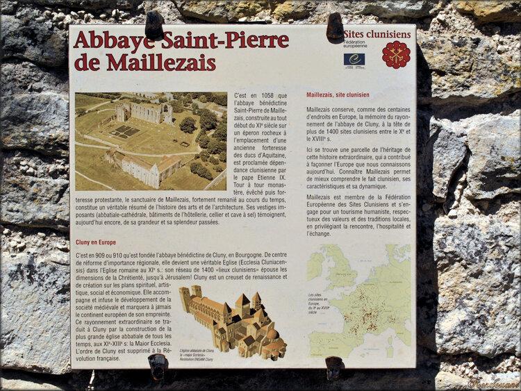 Maillezais - Abbaye et marais