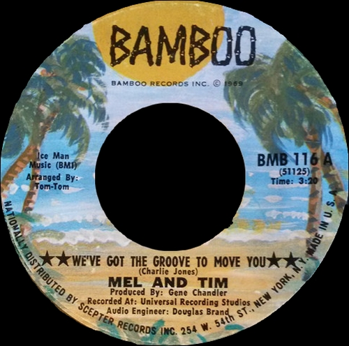 "Mel & Tim : Album "" Good Guys Only Win In The Movies "" Bamboo Records BMS 8001 [ US ]"