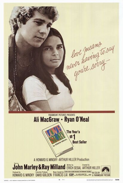 LOVE STORY BOX OFFICE1970