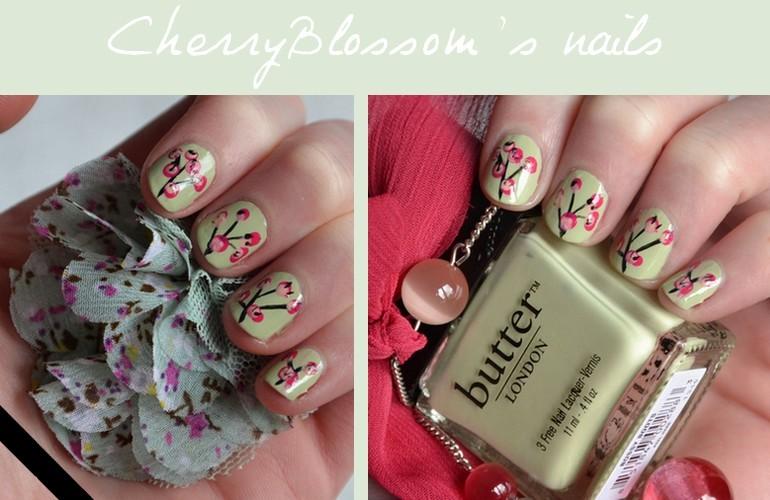 CherryBlossom's nails !