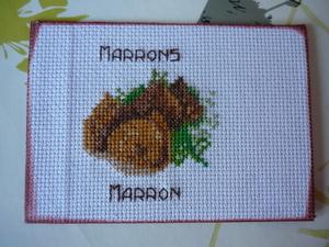 "Echange ATC avec Mady: ""Marron"""