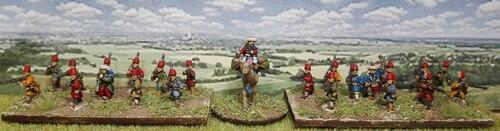 Tercios : armée ottomane (suite) :