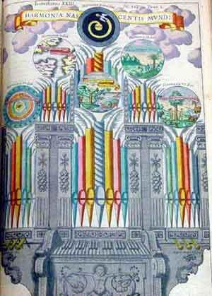 Athanasius Kircher : l'orgue d'harmonie
