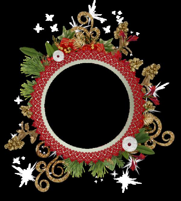 Cadres clusters Noël /16