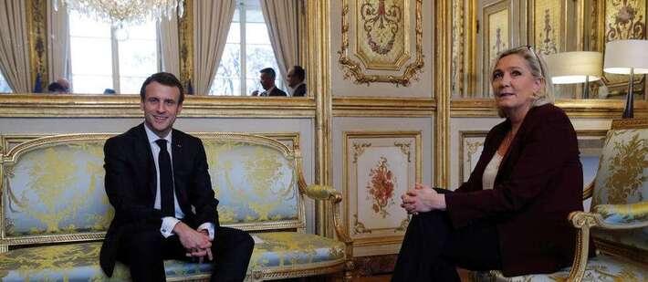Présidentielle 2022 : Macron et Le Pen font toujours la course en tête+