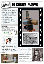 Les jouets optiques: la lanterne magique