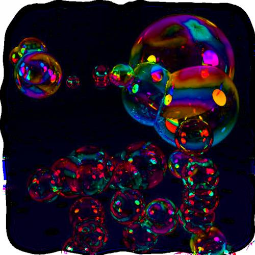 tube bulle de savon