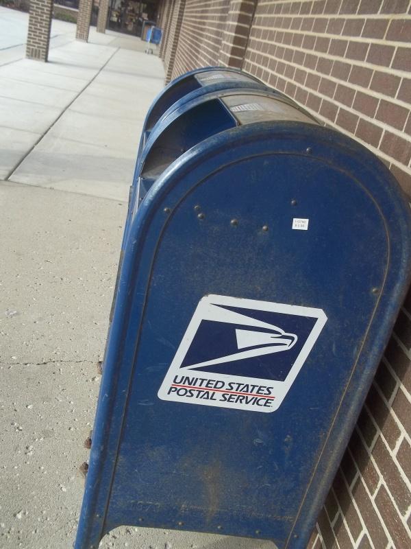 La boîte aux lettres.