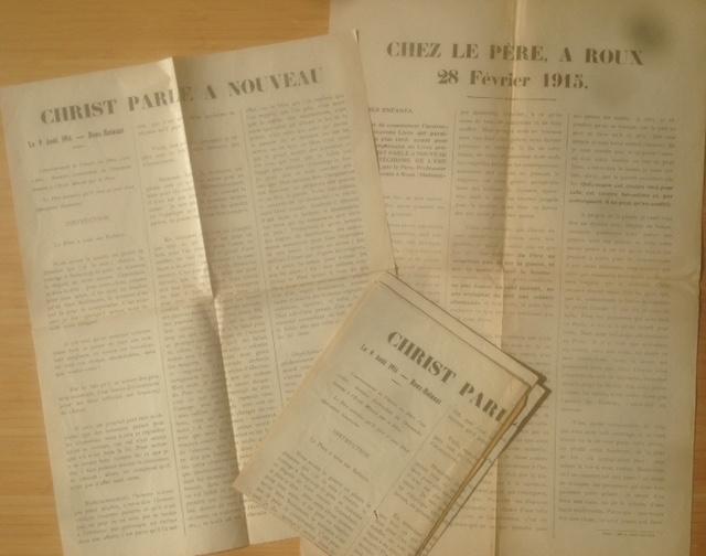 Toutes-boîtes Père Dor 1914-1915