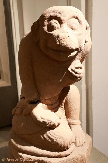 Musée de la sculpture Cham, Hanuman