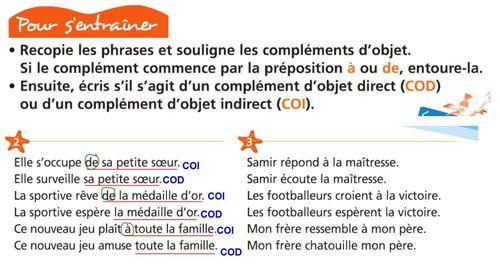 Grammaire: