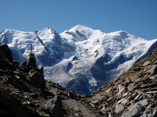 Mont-Blanc au Col du Brévent