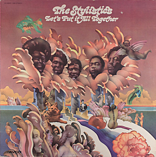 "The Stylistics : Album "" Let's Put It All Together "" Avco Records ‎AV-69001-698 [ US ]"