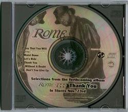 ROME - THANK YOU (EP PROMO 1999)