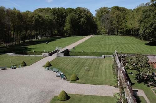 Château de Miromesnil à Tourvilles-sur-Arques, Seine-Maritime