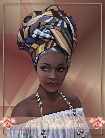 AF0014 - Tube femme africaine
