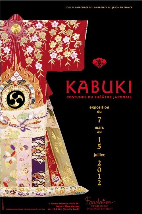 Kabuki, affiche de l'exposition