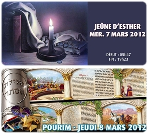 Pourim ou la fête d'Esther