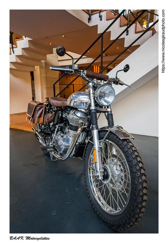 BAAK Motocyclettes, la French Touch! (Lyon)