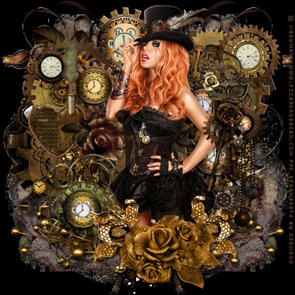 """Tutoriel """"Steampunk Beauty"""" chez Devious Desires"""