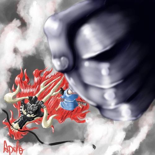 Luffy est celui qui dirigera le puissant samouraï de Wano